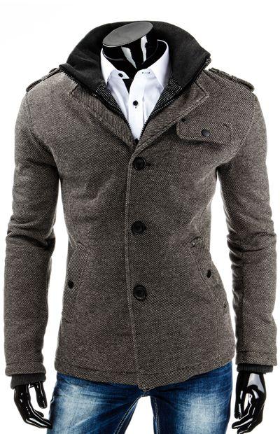 Nowe modele męskich płaszczy http://dstreet.pl/pol_m_ODZIEZ-MESKA_PLASZCZE-164.html  #dstreet #plaszcz