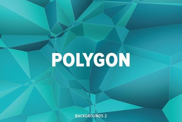 Polygon Backgrounds 2 By Dotstudio on YouWorkForThem.