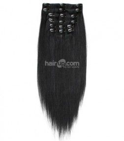 Clip on hair extensions source offering luxurious quality 100 % Human Hair clip in hair extensions at an unbeatable price with heavy discount also provides health and shiny looking natural hairs, this adds to realistic appearance and give a style. http://goo.gl/Xc6RzC