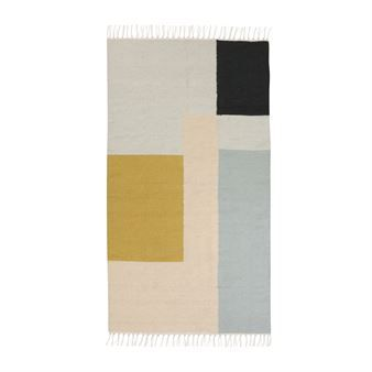 Kelim Teppich klein - squares - Ferm Living