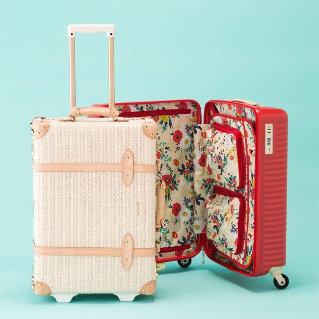 デザインも機能もばっちり! 春旅行に連れて行きたいオシャレな新作 ... 女子社員チームが企画した、女性のためのスーツケース「ハント」。携帯充電器などの小物類を収納できるマチ付き内装ポケットや、スーツケースを開けても中身が見えない ...
