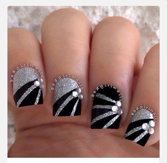 Black & Silver