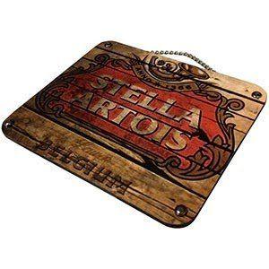 Plaqueta Decorativa Stella Artois