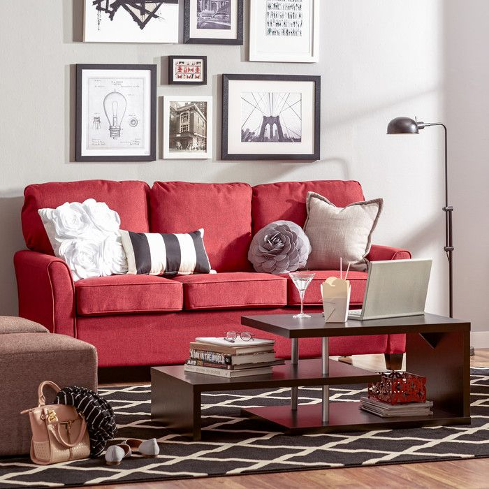 found it at allmodern aubrey sofa find this pin and more on living room by wayfair
