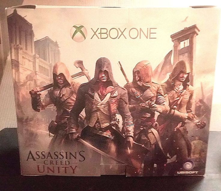 XBOX ONE ASSASSIN'S CREED UNITY ******REPLACEMENT BOX ONLY******* WITH PRICE TAG