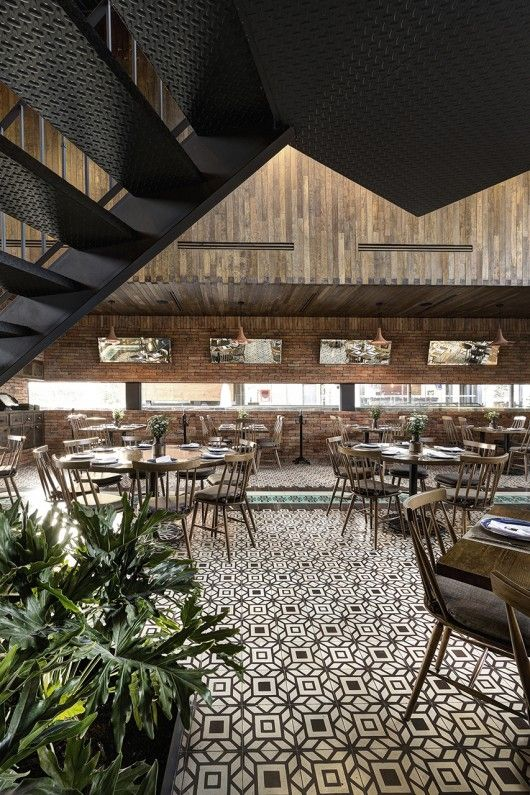 La Tequila Restaurant, Mexico by LOA León Orraca Arquitectos