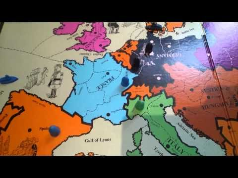 DIPLOMACY Strategy The Self-bounce (Diplomacy Board Game) - YouTube
