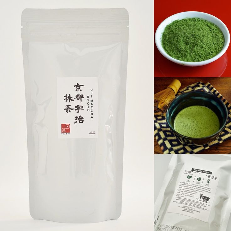 Ocha & Co. Japanese Kyoto Uji Matcha Green Tea Powder