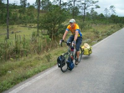 Write a composition discussing the pros and cons of traveling by bicycle.