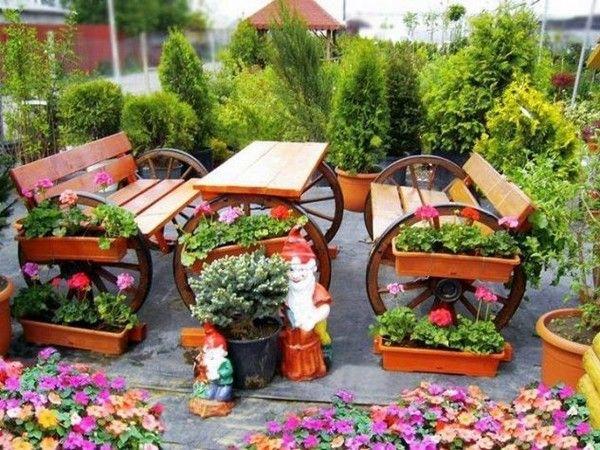 Σπίτι και κήπος διακόσμηση: 20 Μικρές και πρωτότυπες ιδέες για μεγάλο διακοσμητικό αποτέλεσμα στον κήπο