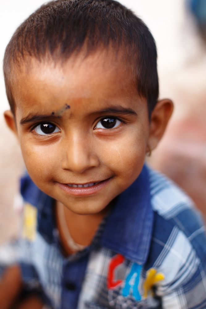 boy with smile