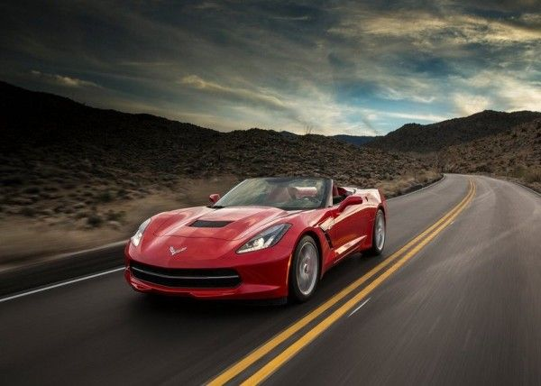 2014 Chevrolet Corvette C7 Stingray Convertible Red Exterior 600x428 2014 Chevrolet Corvette C7 Stingray Full Review With Images