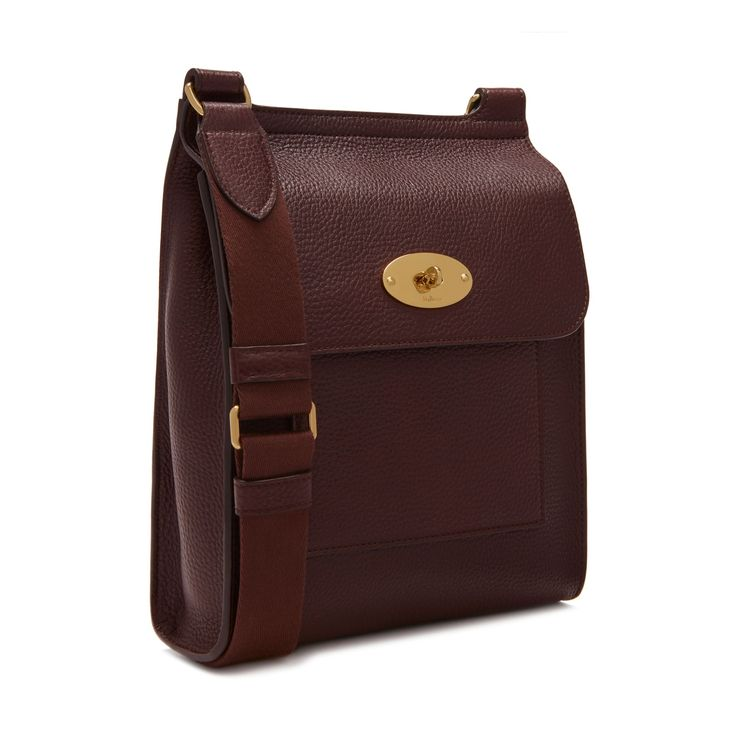New Antony   Oxblood Natural Grain Leather   Men   Mulberry