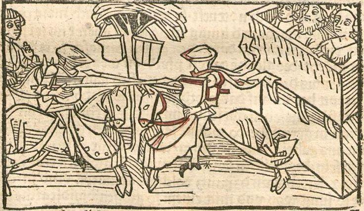 Eleonore <Österreich, Erzherzogin>: Pontus und Sidonia Augsburg, 1485 Ink E-47 - GW 12720 Folio 35