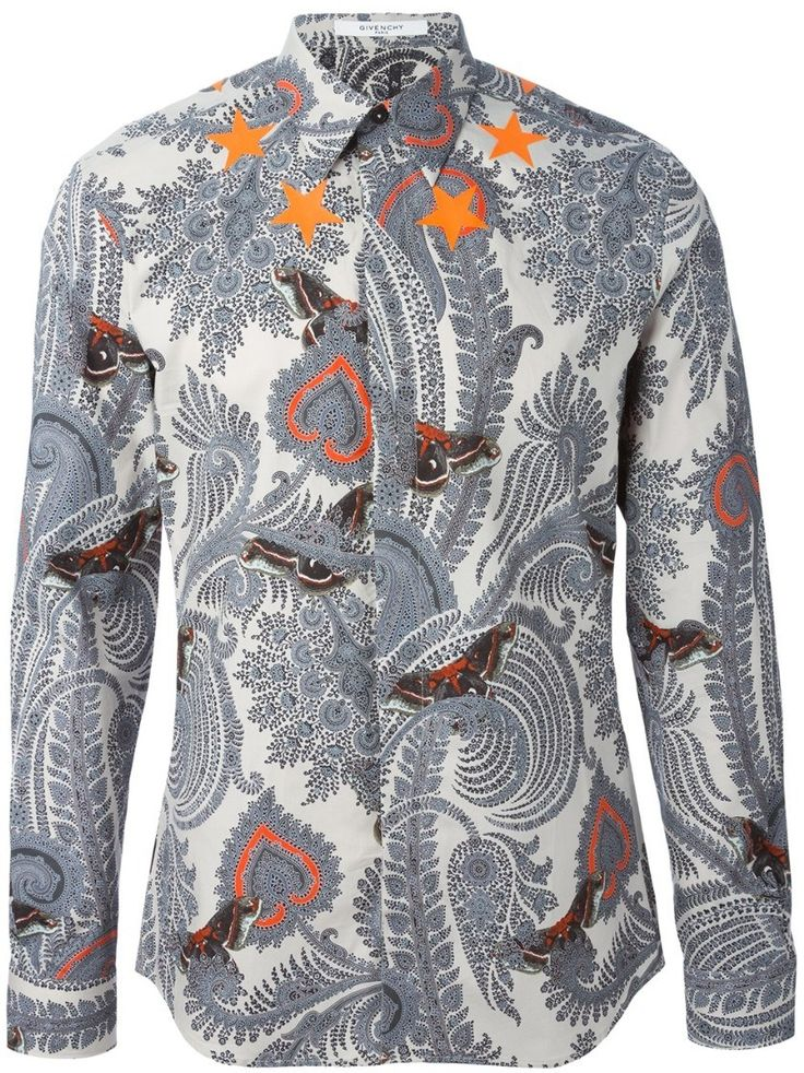 givenchy paisley print shirt Gray #alducadaosta #business #meeting #businessmeeting #men #apparel #style #fashion #inpiration #inspo #streetstyle #givenchy