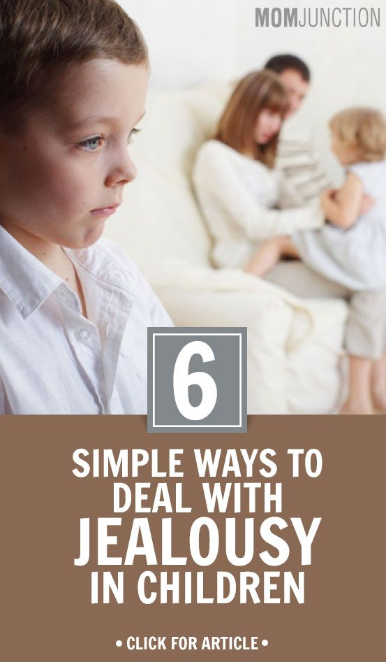 6 Simple Ways To Deal With Jealousy In ...Before dealing with jealousy in your kid be sure that you are not among those parents who experience jealousy in everyday life. If yes then first remove it from your system then only you will be able to deal it effectively in your kid. Here are the ways to handle jealousy in kids: