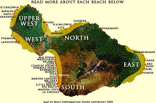 Best Maui beaches - great info. on what each beach has to offer.  Need to go back to Big Beach and Little Beach on a Sunday night!