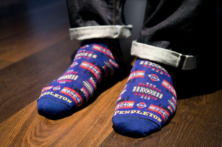"""The store shows us how to style the """"best socks on the market"""" right now, from the trusty labels Chup, Pendleton, Stance, Universal Works, Falke and more."""