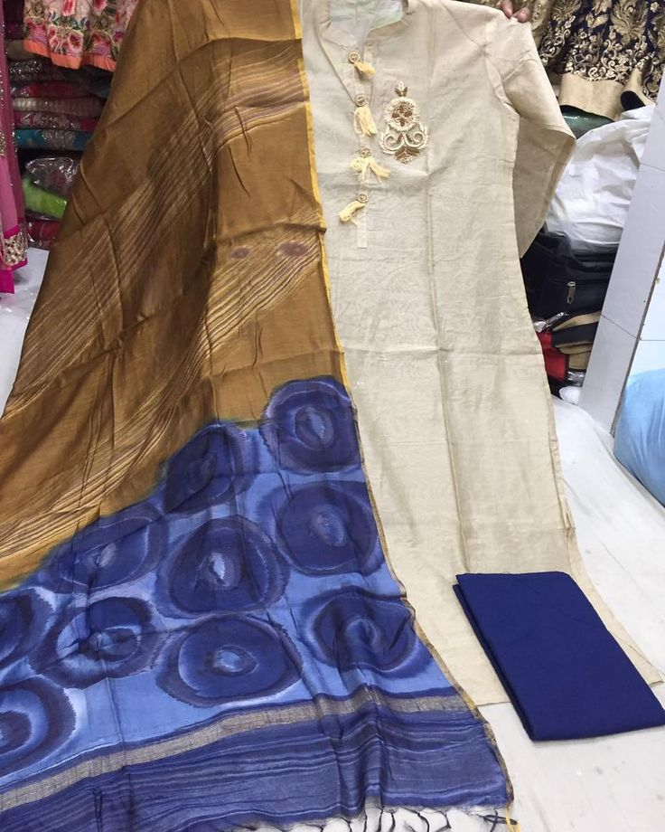 semi stitched maheshwari silk shirt with hand work  silk Dupatta and cotton salwar............ -------/------- PRICE:- call 9768897928 or Whatsapp or send Instagram message  Silk suits for ladies online  #ladiessuits #mumbaimoms #bangaloremoms #delhimoms #chennaimoms