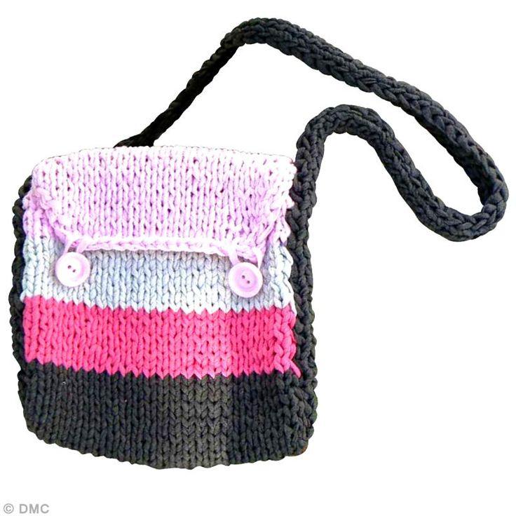 DIY sac bandoulière en fil Ribbon XL