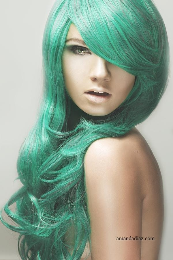 This Is My Next Hair Color Mint Green  Hair  Pinterest