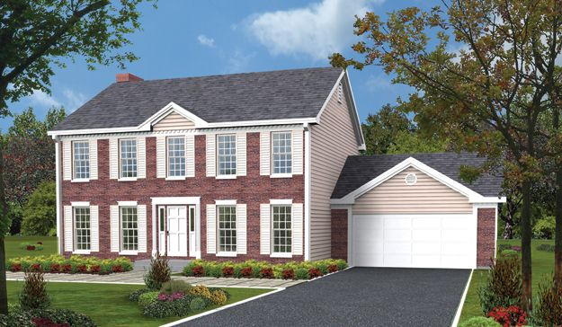 Elegant and traditional 4 bedroom colonial style home colonial house plan 321115 colonial - Elegant colonial architectural designs ...