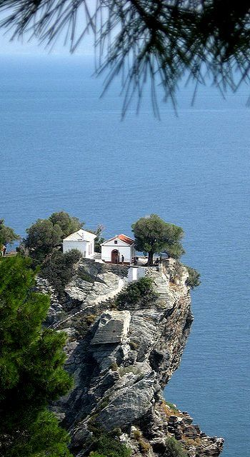 Church of St. John ~ Kastri, Skopelos Island (Sporades), Greece