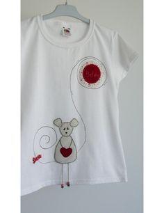 Camiseta Niña La Ratita Presumida de Punt a Punt