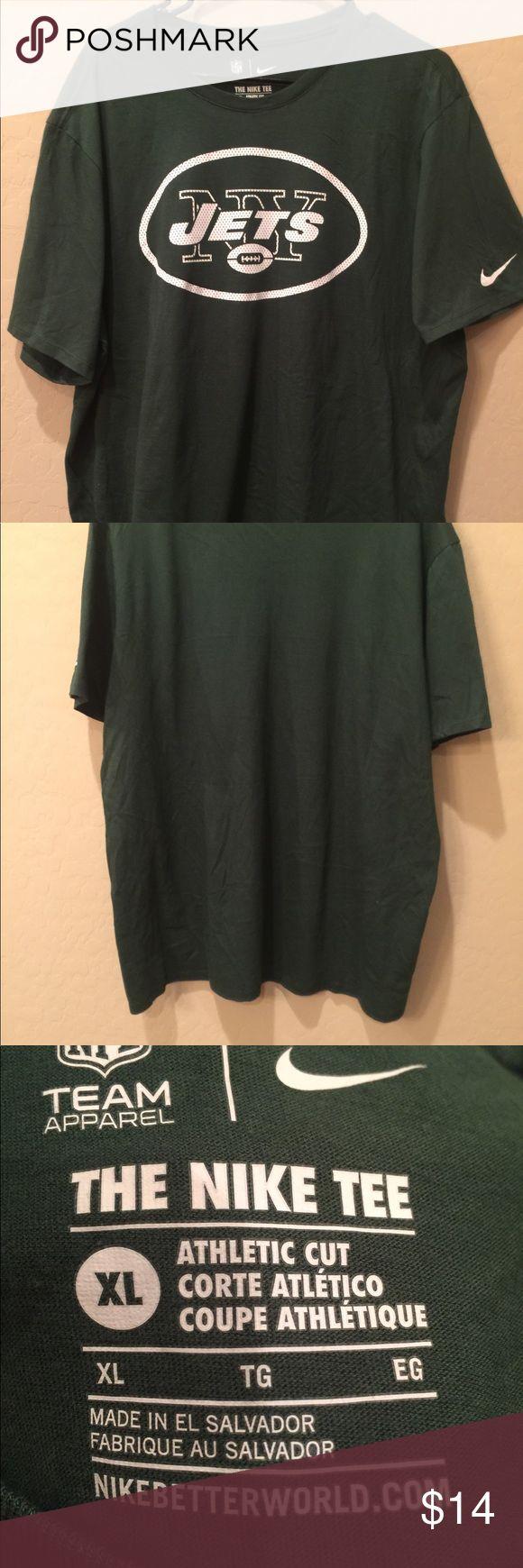 Nike NFL team Apparel New York Jets Size XL Nike NFL team Apparel New York Jets Size XL Nike Shirts Tees - Short Sleeve
