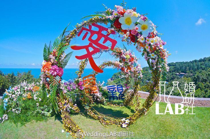Lovely wedding ceremony in Paresa Resorts Phuket