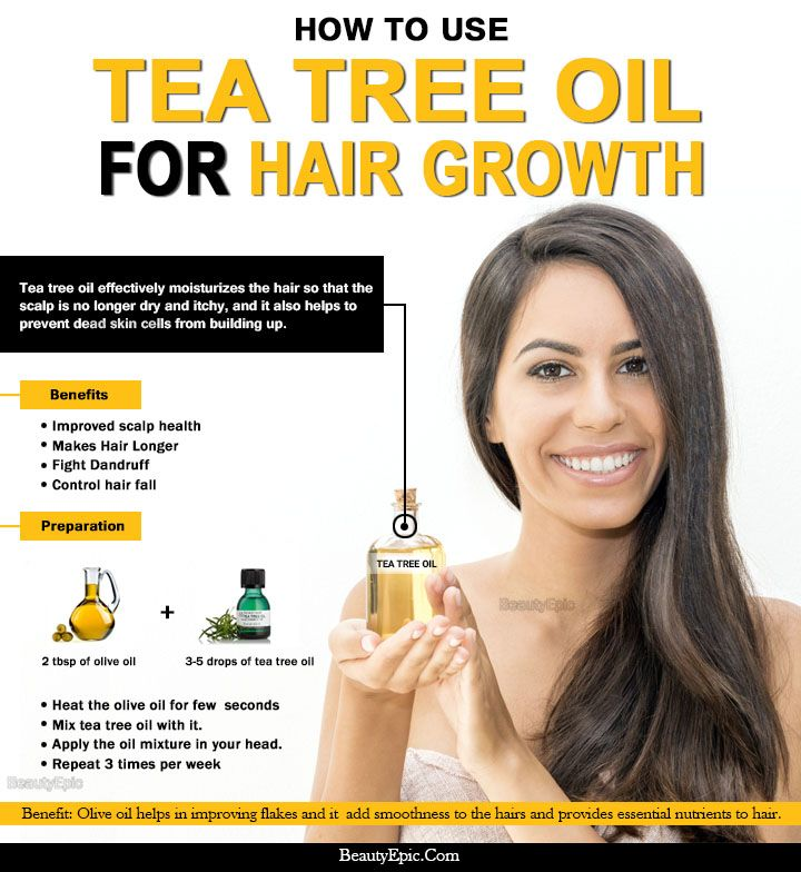How To Use Tea Tree Oil For Hair Growth Check More At Https