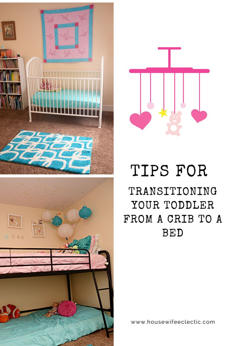 Housewife Eclectic: Tips For Transitioning Your Toddler From a Crib to a Bed