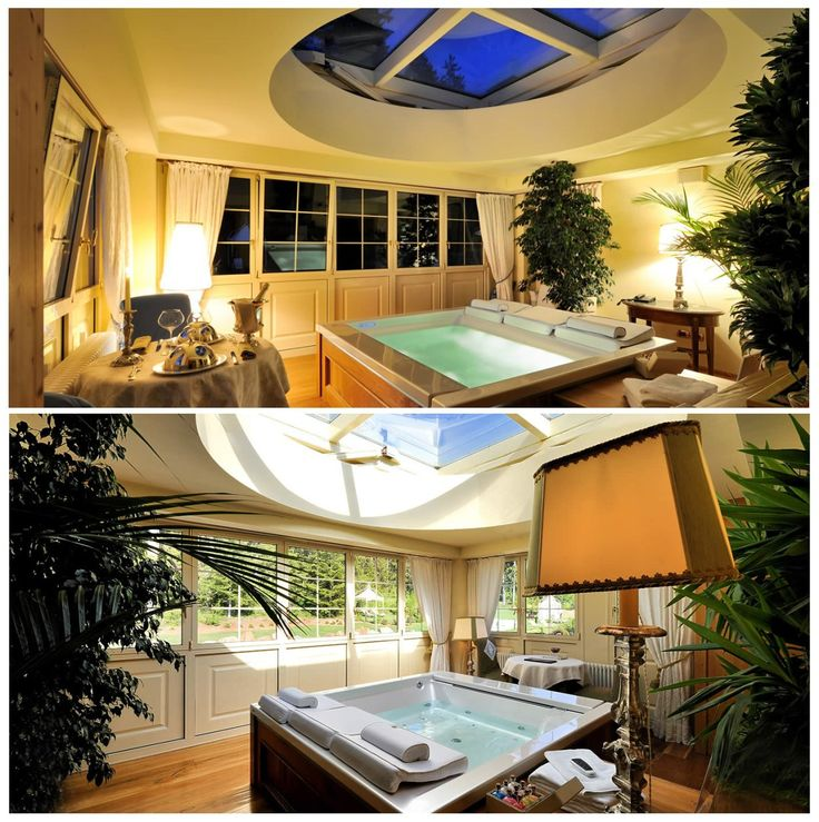 Private spa relax room