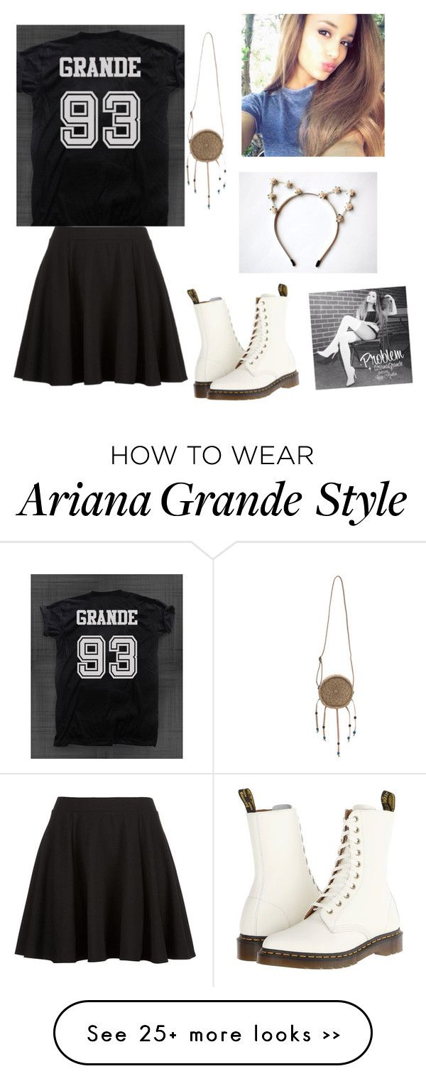 """Day out with Ariana Grande"" by mintyme75 on Polyvore"