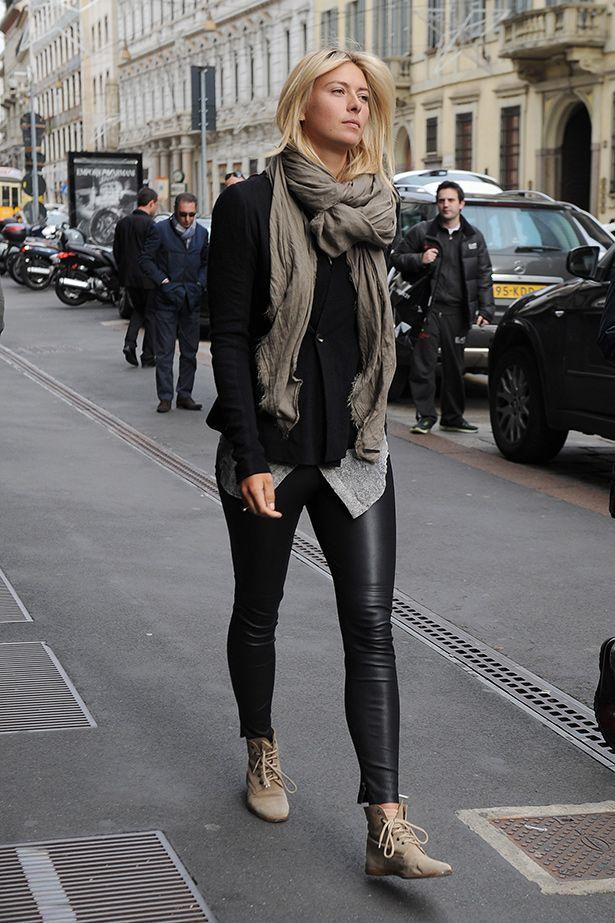 Maria Sharapova style