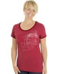 Women'S Ringer-T (Ethica | Made In Canada)-IPROMOTEU - TOA DESIGN, PRINT & PROMOTE