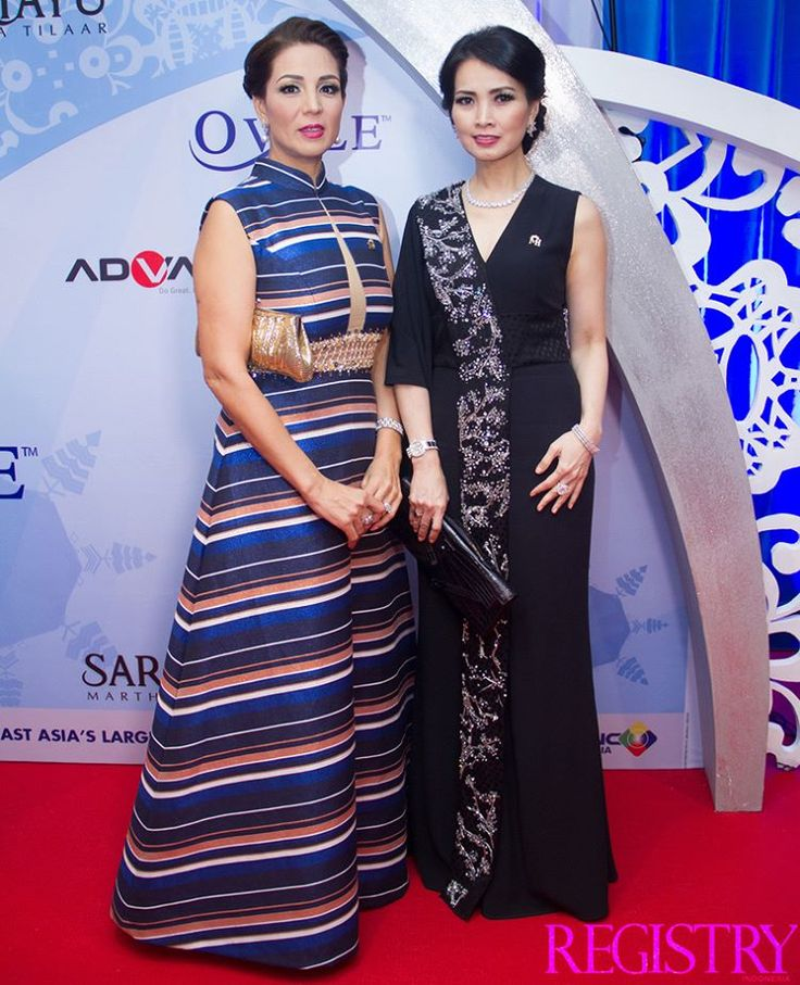#TBT Madame Noor Sabah Naol Traavik & Mrs. Liliana Tanoesoedibjo at @MissIndo_RCTI Final Night took place at Studio RCTI Jakarta on the 24th February 2016 #RegistryE #Event