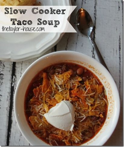 Slow Cooker Taco Soup Recipe: Easy Weeknight Meal Idea