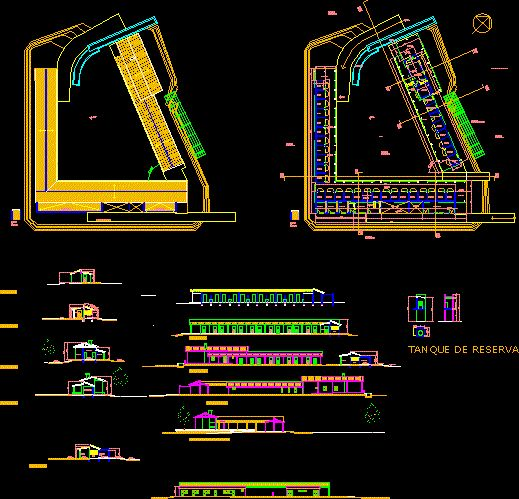 Stable Dwg Autocad Drawing Misc Pinterest