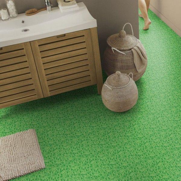 PVC Boden Tarkett Design 200 Gras Grün Bild 1