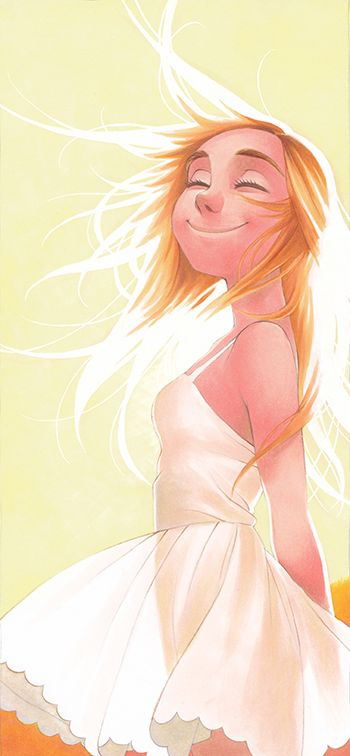 Light, sun #Girl / Luce, sole #ragazza - Illust. by SAkURA-JOkER on deviantART