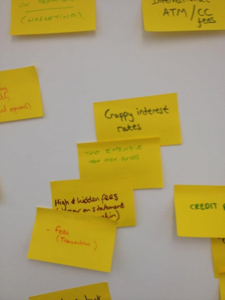 Holvi's Build a Bank   London 2013 - Problems with banking. #Holvi #FinTech #FutureOfBanking