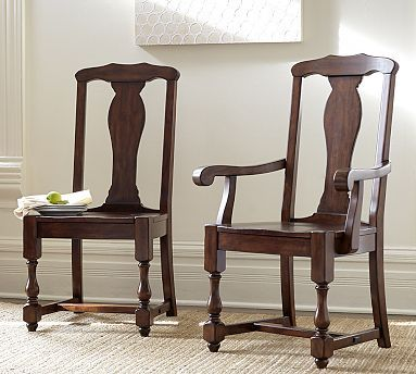 Cortona Chair Potterybarn This Could Look Nice With Our Antique Table