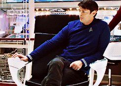 "Karl Urban - Dr. Leonatd ""Bones"" McCoy in Star Trek."