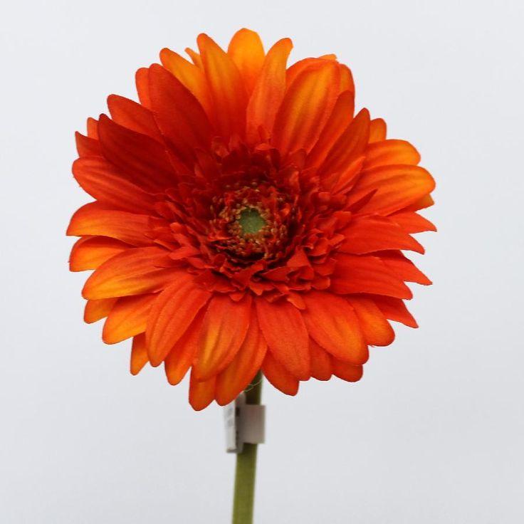 Gerbera Stem Orange Artificial Flower 29010608 0 1372340317000