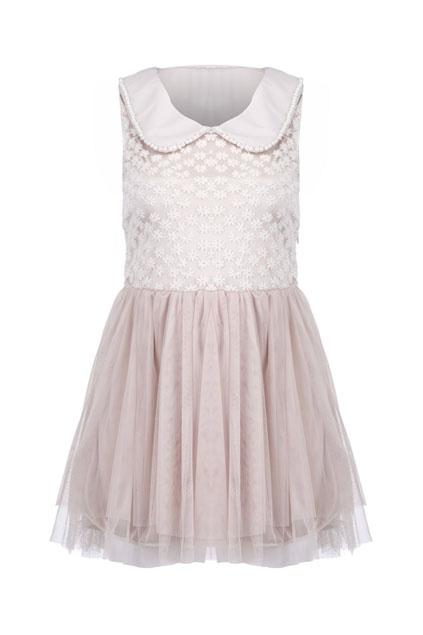 Romwe: Lace Upper, Lion, Dress 66 70, Fashion Design, Fashion Inspiration, Floral Lace, Lace Dresses, Peter Pan Fairy, Fairy Dressy Ness