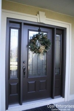 Best 25 black exterior doors ideas on pinterest black for Garage door repair orland park il