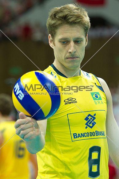 Murilo Endres of Brazil Volleyball Team   © Mariusz Pałczyński / MPAimages.com