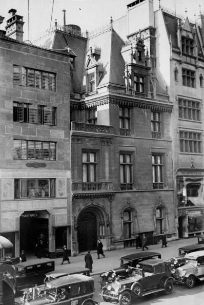 666 Fifth Ave. | Manhattan, NY. The residence of William K. Vanderbilt, Jr. and Mrs. Virginia Fair Vanderbilt. Constructed by Stanford White it was a gift from William K. Vanderbilt to his son and daughter-in-law.