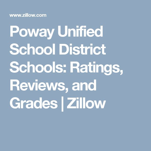 Poway Unified School District Schools: Ratings, Reviews, and Grades  | Zillow